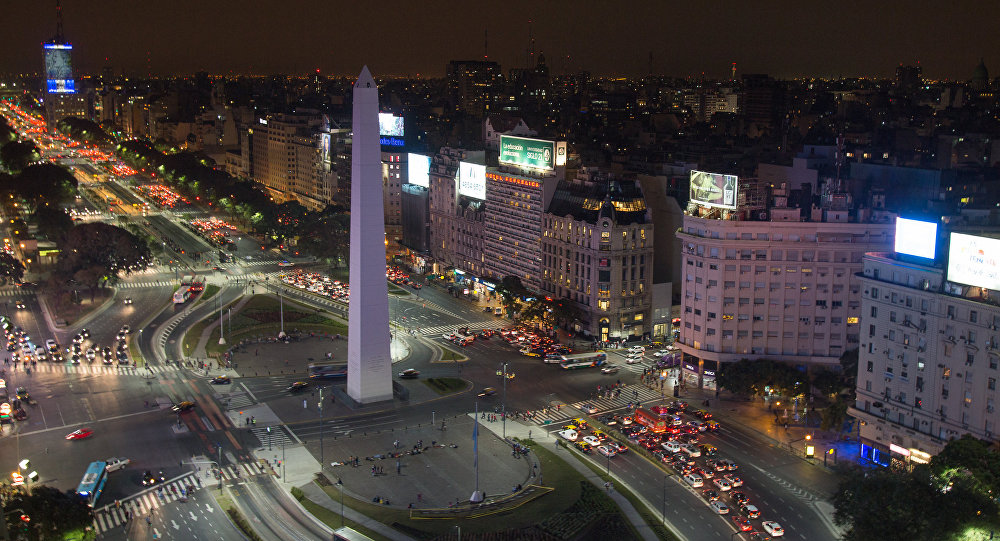 Evolución de la población en Buenos Aires.